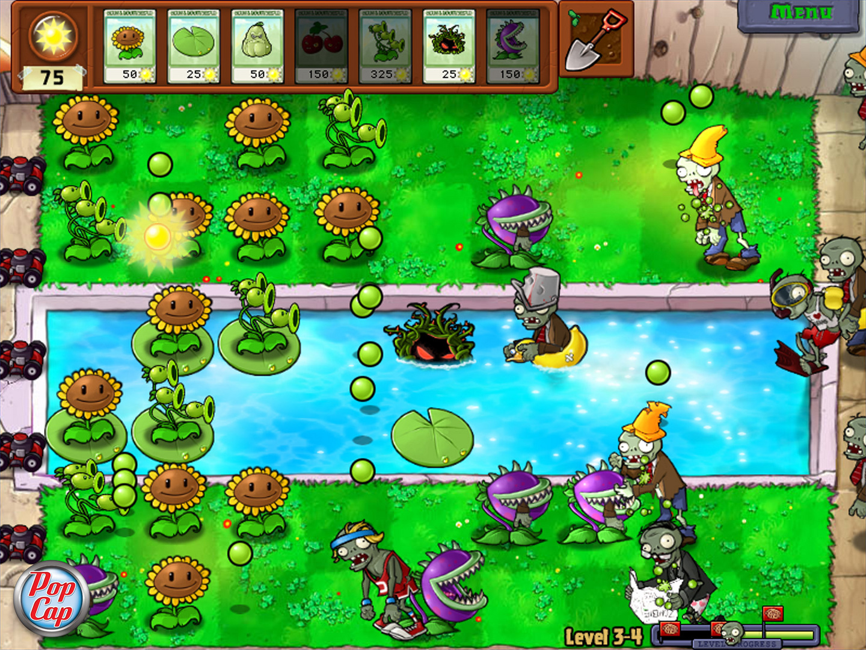 ดาวน์โหลดเกม plants vs. zombies